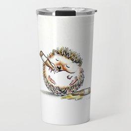 Drunk Hedgehog Travel Mug