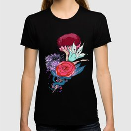 Chrysanth Wisteria & Lily - & Rose  T-shirt