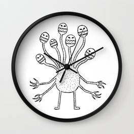 7 headed monster Wall Clock