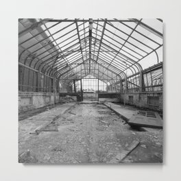 Once a Greenhouse Metal Print