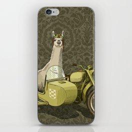 Sidecar Llama iPhone Skin