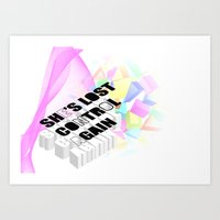 joy division Art Prints featuring Joy or Division? by minnie's got a girlfriend