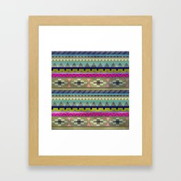 Pattern 3 Framed Art Print
