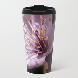japanese cherrytree-blossom on black -2- Travel Mug