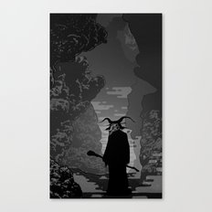 The Demon Canvas Print