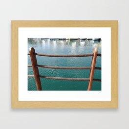 Boatyard Framed Art Print