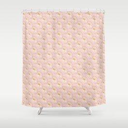 Flying Gymnasts Shower Curtain