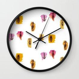 Vag Positivity Wall Clock