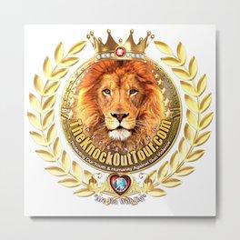 The Knockout Tour Royal Lionheart Crest Metal Print