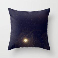 midnight... Throw Pillow
