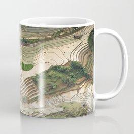Blind Strech Comb Vietnam Landscape Coffee Mug