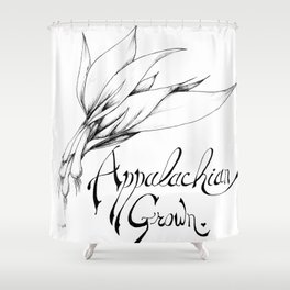 Appalachian Grown Shower Curtain
