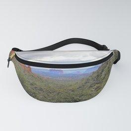Sedona Canyon Landscape by Reay of Light Fanny Pack