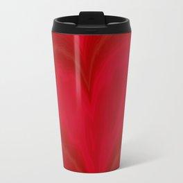 Valentine's Day Red Heart Pattern Travel Mug
