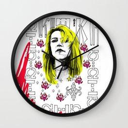 Sonic Kim Goddess Wall Clock