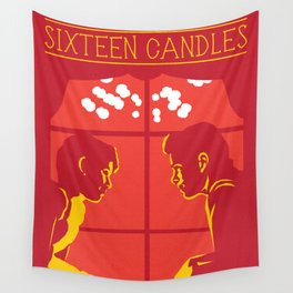80s TEEN MOVIES :: SIXTEEN CANDLES Wall Tapestry