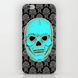 Skull mask iPhone Skin