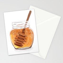 Honey Pot Painting Stationery Cards