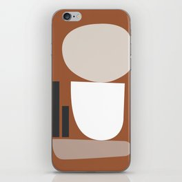 Shape study #11 - Stackable Collection iPhone Skin