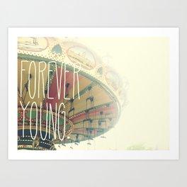 F∞REVER Art Print