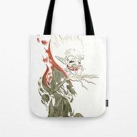 dracula Tote Bags featuring Dracula by JoJo Seames