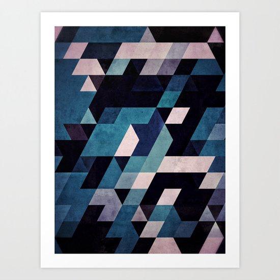blux redux Art Print