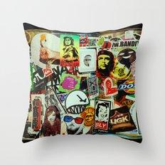 Stickerz  Throw Pillow
