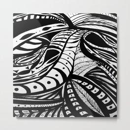Gaia Garden Metal Print