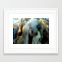 donkey Framed Art Prints featuring Donkey by Gelasma=Kalomel