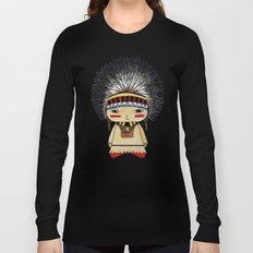 A Boy - American indian Long Sleeve T-shirt
