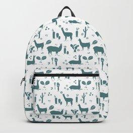 Llama pattern 4 Backpack