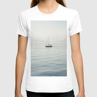 sailboat T-shirts featuring Sailboat by Jakub Majewski