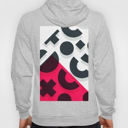 Minimal Abstract Art Pattern Geometric Hoody