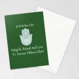 JeWitch Tikkun Olam Stationery Cards