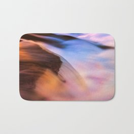 Stream of Swallowed Colors Bath Mat