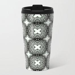floral swirl pattern #126 Travel Mug