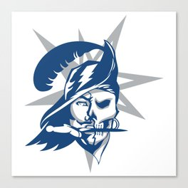2017 Tampa Bay Sports Teams Logo V.2 Canvas Print
