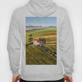 Vineyards In Tuscany Italy Hoody