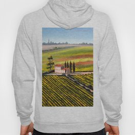 Vineyards In Tuscany Italy Hoody