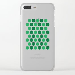 Dotty Durians - Singapore Tropical Fruits Series Clear iPhone Case