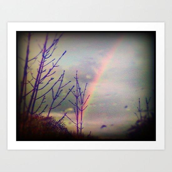 - Fraction of a Rainbow -  Art Print