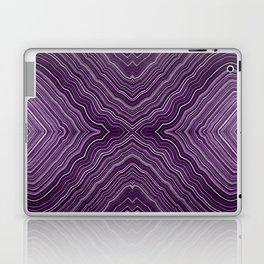 Abstract #9 - IX - Purple Laptop & iPad Skin