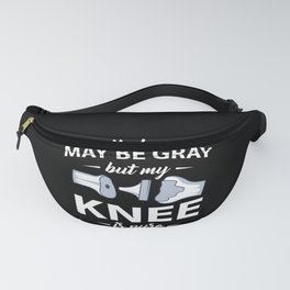 Titanium Dual Knee Replacement Surgery Gift Fanny Pack