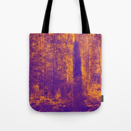 OVER THE RIVER AND INTO THE ABYSS Tote Bag