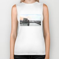 industrial Biker Tanks featuring Industrial I. by zenitt