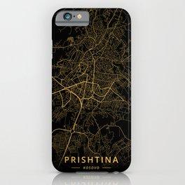 Prishtina, Kosovo - Gold iPhone Case