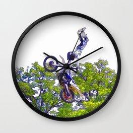 Hand Stand Pro - Freestyle Motocross Stunt Wall Clock
