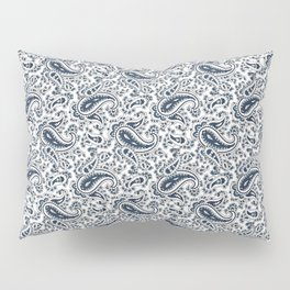 Ramona Paisley - White Pillow Sham