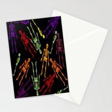 Halloween skeleton Stationery Cards