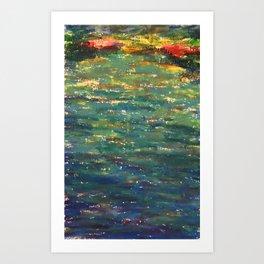 EP Lake Art Print